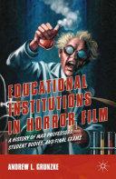 Educational Institutions in Horror Film