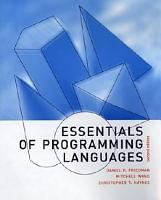 Essentials of Programming Languages PDF