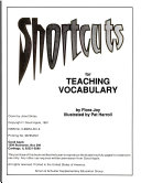 Shortcuts for Teaching Vocabulary