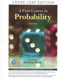 First Course in Probability  a Books a la Carte Edition PDF