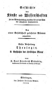Geschichte der christlichen Moral seit dem Wiederaufleben der Wissenschaften