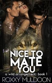 Nice to Mate You: A BBW Wolf Shifter Threesome Paranormal Erotic Romance
