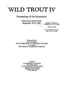 Wild Trout IV PDF