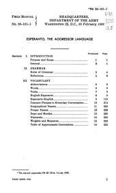 Esperanto the Aggressor Language