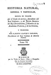 Historia natural, general y particular: Volumen 6