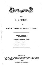 Museum of Foreign Literature, Science and Art: Volume 22