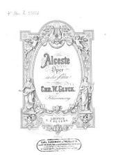Alceste: Oper in 3 Akten