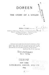 Doreen: The Story of a Singer
