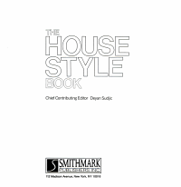 The House Style Book