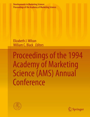 Proceedings of the 1994 Academy of Marketing Science  AMS  Annual Conference PDF