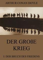 Der große Krieg - 1: Der Bruch des Friedens