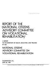 A Report to the Secretary of Health  Education  and Welfare PDF