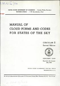 Manual of Cloud Forms and Codes for States of the Sky PDF