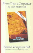 More Than a Carpenter Personal Evangelism PDF