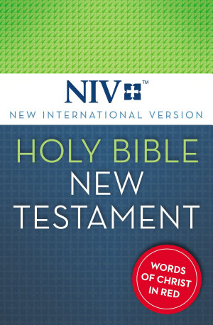 NIV  Holy Bible  New Testament  eBook  Red Letter