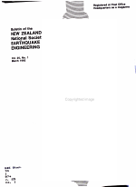 Bulletin of the New Zealand National Society for Earthquake Engineering