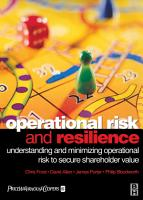 Operational Risk and Resilience PDF