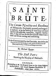 A Saint Or A Brute Book PDF