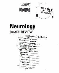 Neurology Board Review  Pearls of Wisdom  Third Edition PDF