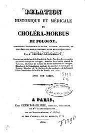 Relation historique et médicale du choléra-morbus de Pologne