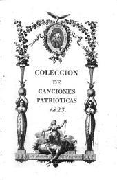 Colección de canciones patrioticas 1823