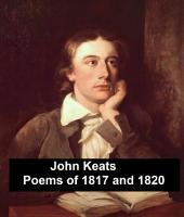 Poems of 1817 and 1820