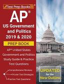AP US Government and Politics 2019   2020 Prep Book