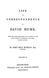 Life and Correspondence of David Hume: Volume 2