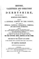 History  gazetteer and directory of Derbyshire  with the town of Burton upon Trent PDF