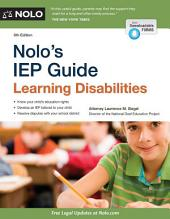 Nolo's IEP Guide: Learning Disabilities, Edition 6