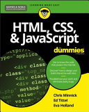 HTML, CSS, & JavaScript for Dummies