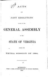 Acts Passed at a General Assembly of the Commonwealth of Virginia
