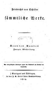 Sämmtliche Werke: Band 9,Ausgabe 2