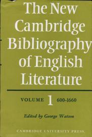 The New Cambridge Bibliography of English Literature  Volume 1  600 1660 PDF