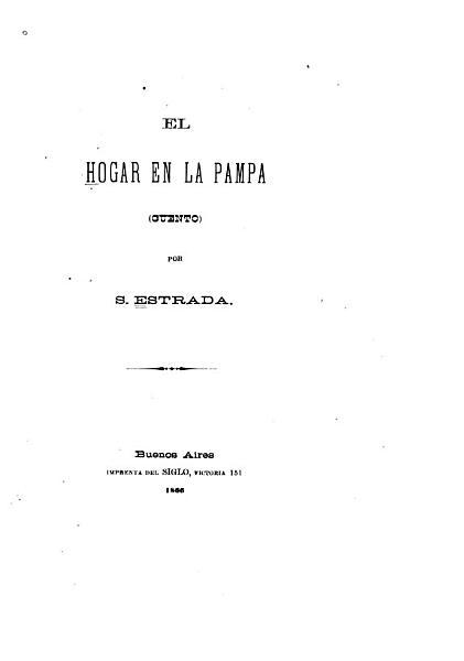 El Hogar En La Pampa