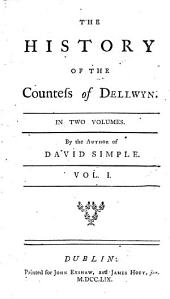 The History of the Countess of Dellwyn ...