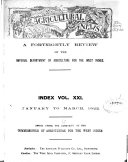 Download A Fortnightly Review of the Imperial Department of Agriculture for the West Indies Book