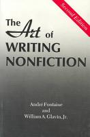 The Art of Writing Nonfiction PDF