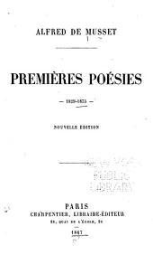 Premières poésies de Alfred de Musset, 1829-1835