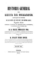 Historia general del Reino de Mallorca PDF