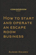 How to Start and Operate an Escape Room Business PDF
