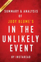 In the Unlikely Event by Judy Blume | Summary & Analysis