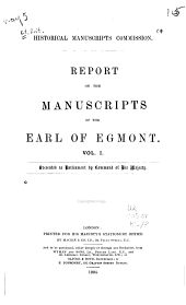 Report on the Manuscripts of the Earl of Egmont: Volume 1, Part 2
