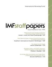 IMF Staff papers: Volume 46, Issue 3