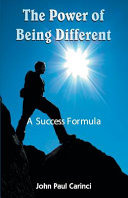 The Power Of Being Different PDF