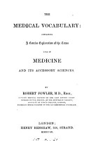 The medical vocabulary PDF