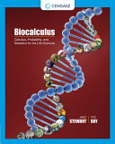 Biocalculus  Calculus  Probability  and Statistics for the Life Sciences