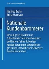 Nationale Kundenbarometer: Messung von Qualität und Zufriedenheit