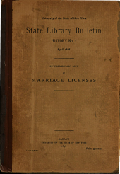 Descriptive List of French Manuscripts Copied for New York State Library from National Archives and National Library at Paris, 1888: Issues 1-5