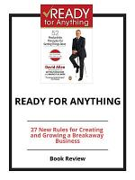Ready For Anything  Book Review PDF